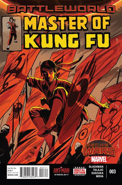 Master Of Kung Fu #3 (of 4) SWA VF/NM