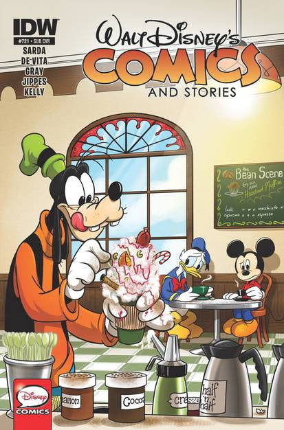 Walt Disney Comics & Stories #721 Subs Var VF/NM