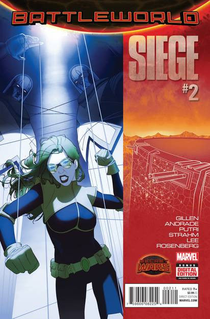 Siege #2 SWA VF/NM