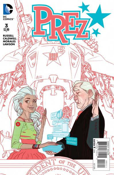 Prez #3 (of 6) VF/NM