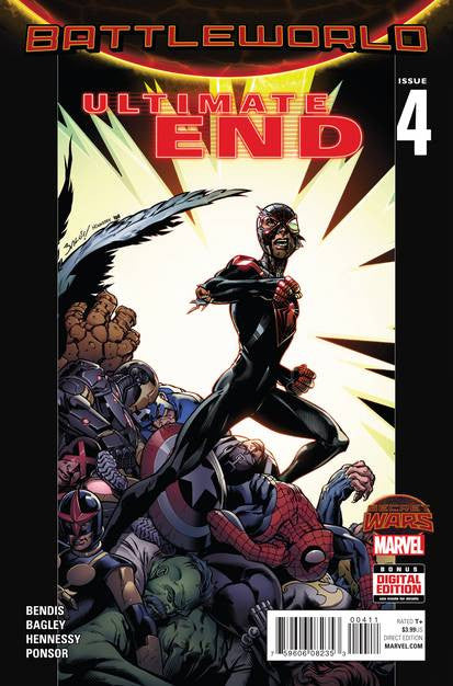 Ultimate End #4 (of 5) SWA VF/NM