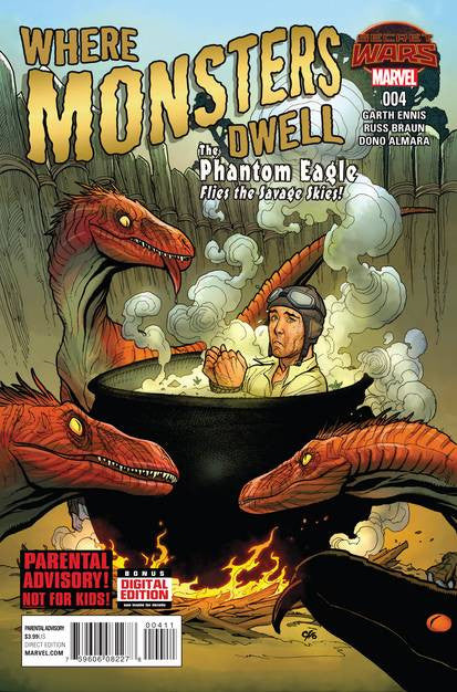 Where Monsters Dwell #4 (of 5) SWA VF/NM