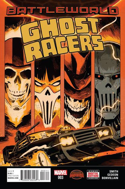 Ghost Racers #3 SWA VF/NM