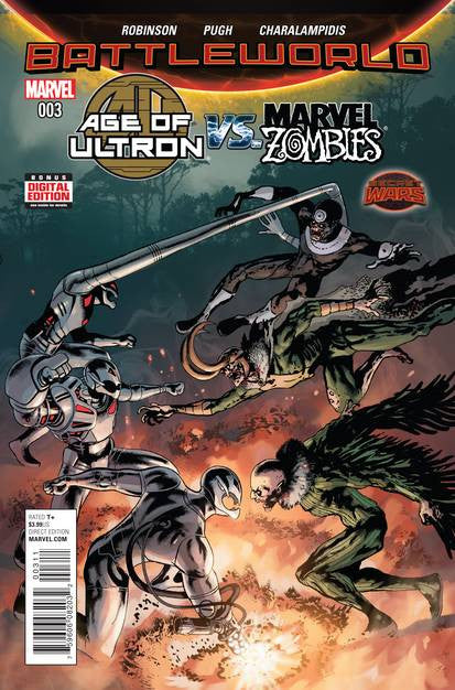 Age Of Ultron Vs. Marvel Zombies #3 SWA VF/NM