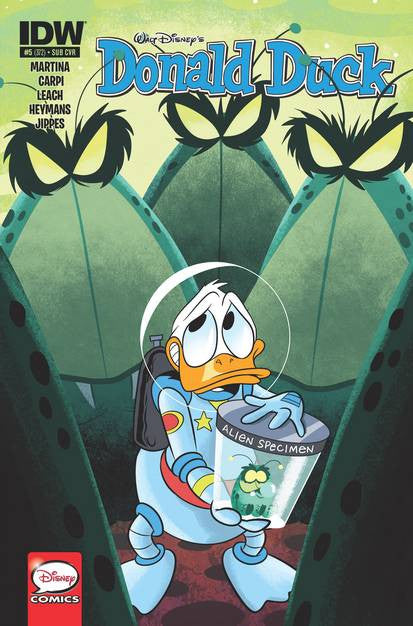 Donald Duck #5 Subs Var VF/NM