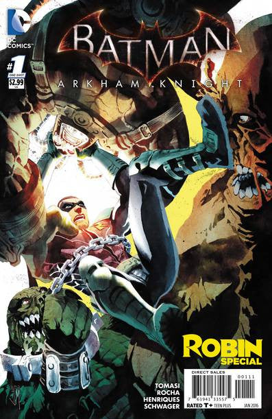 Batman Arkham Knight Robin Special  #1 VF/NM