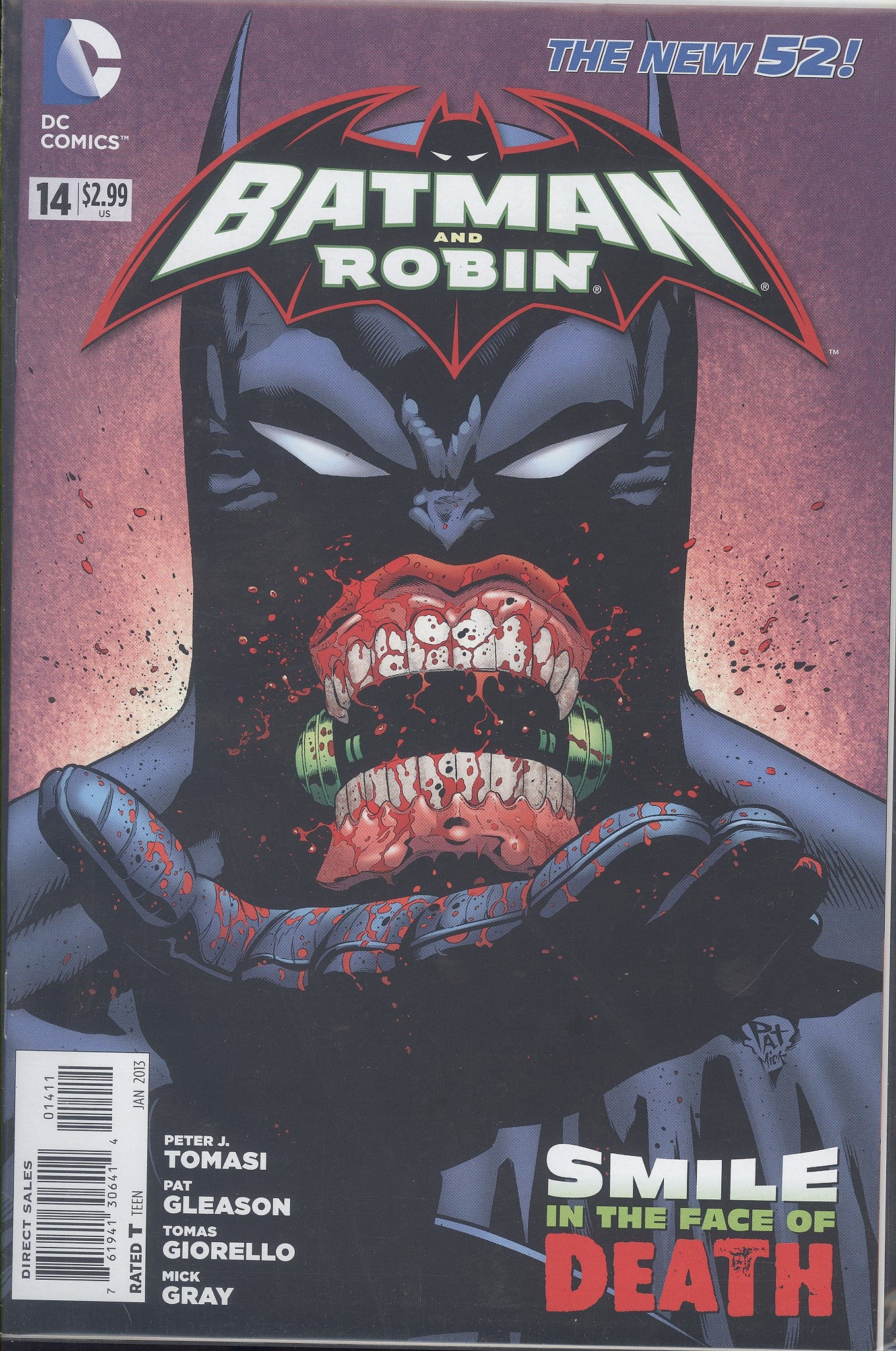 Batman and Robin #14 VF/NM