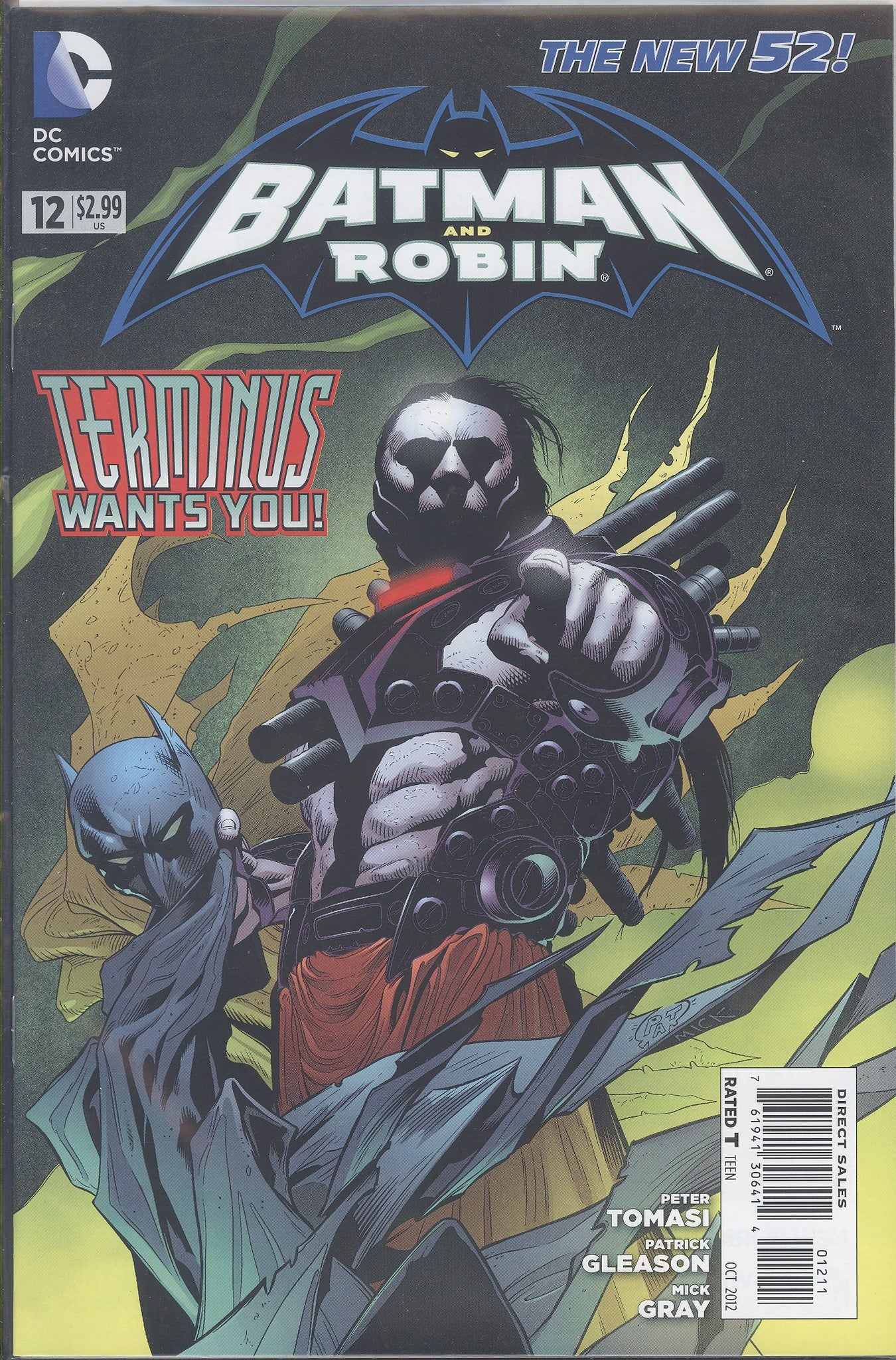 Batman and Robin #12 VF/NM