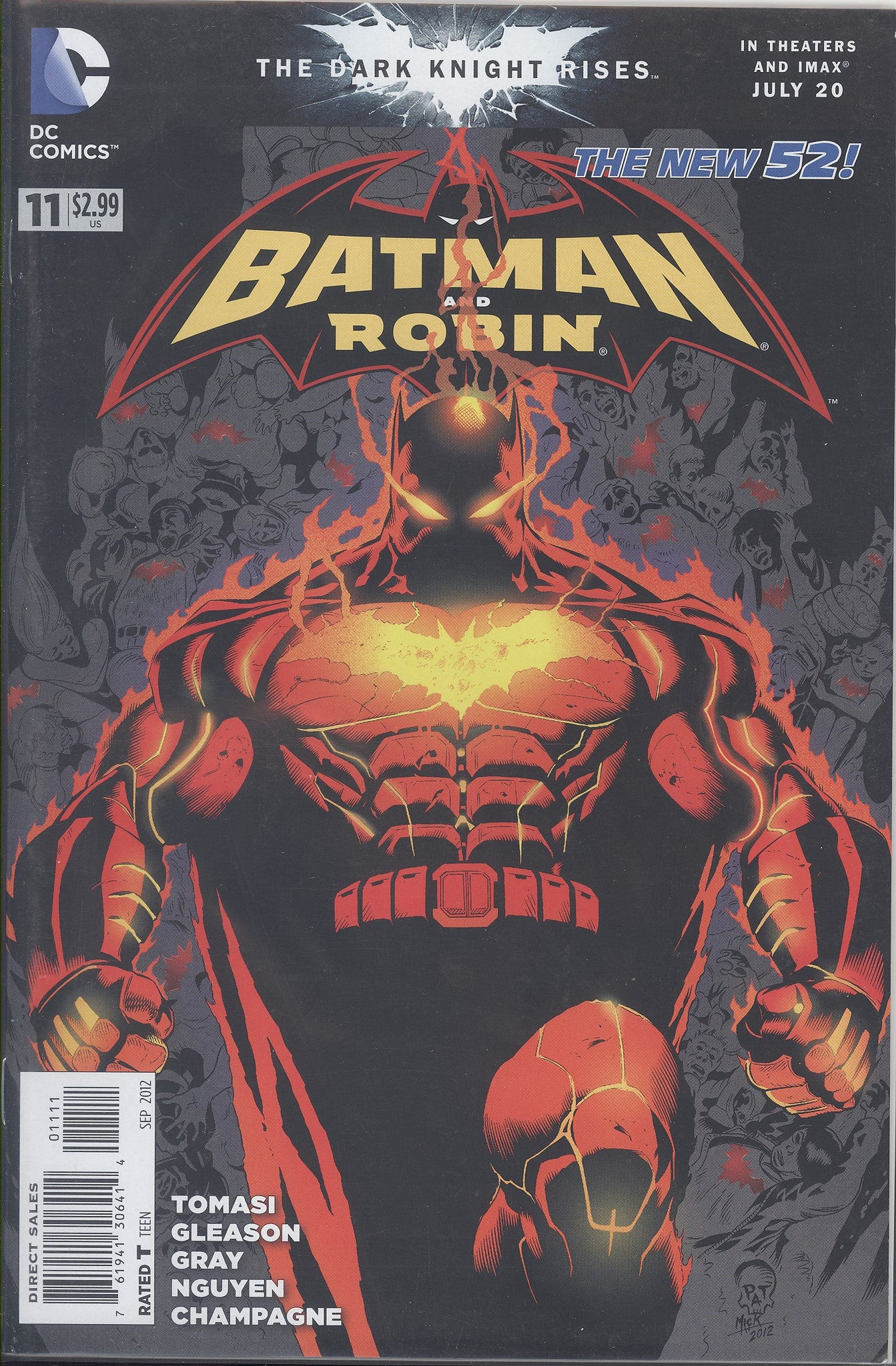 Batman and Robin #11 VF/NM