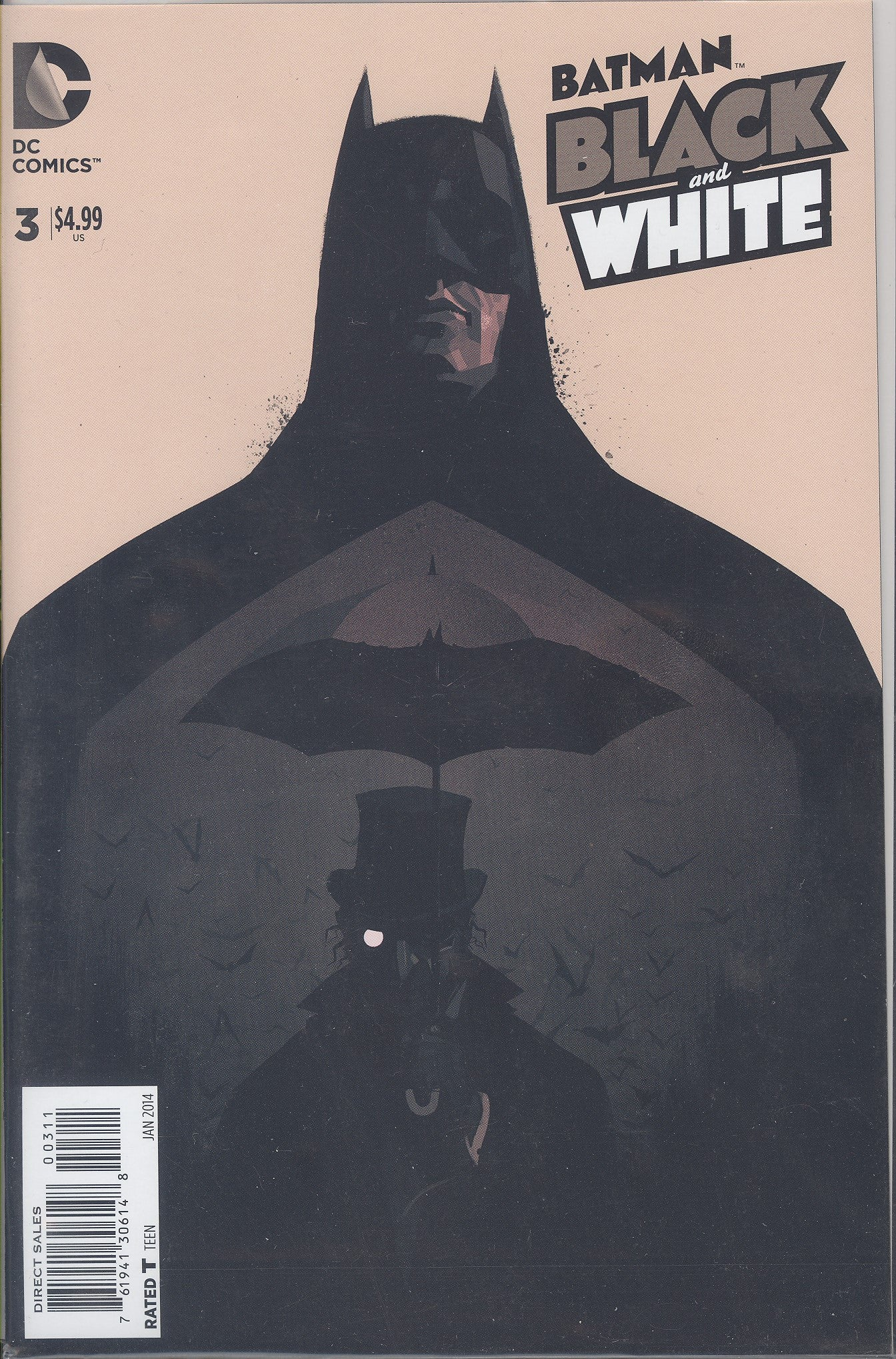 Batman Black & White #3 (of 6) VF/NM