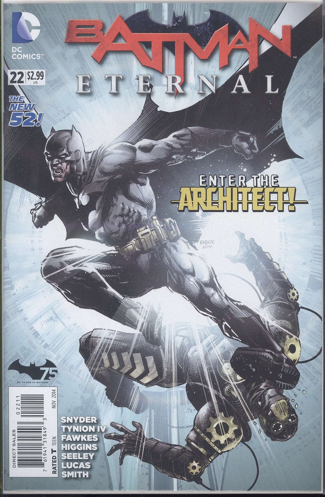 Batman Eternal #22 VF/NM