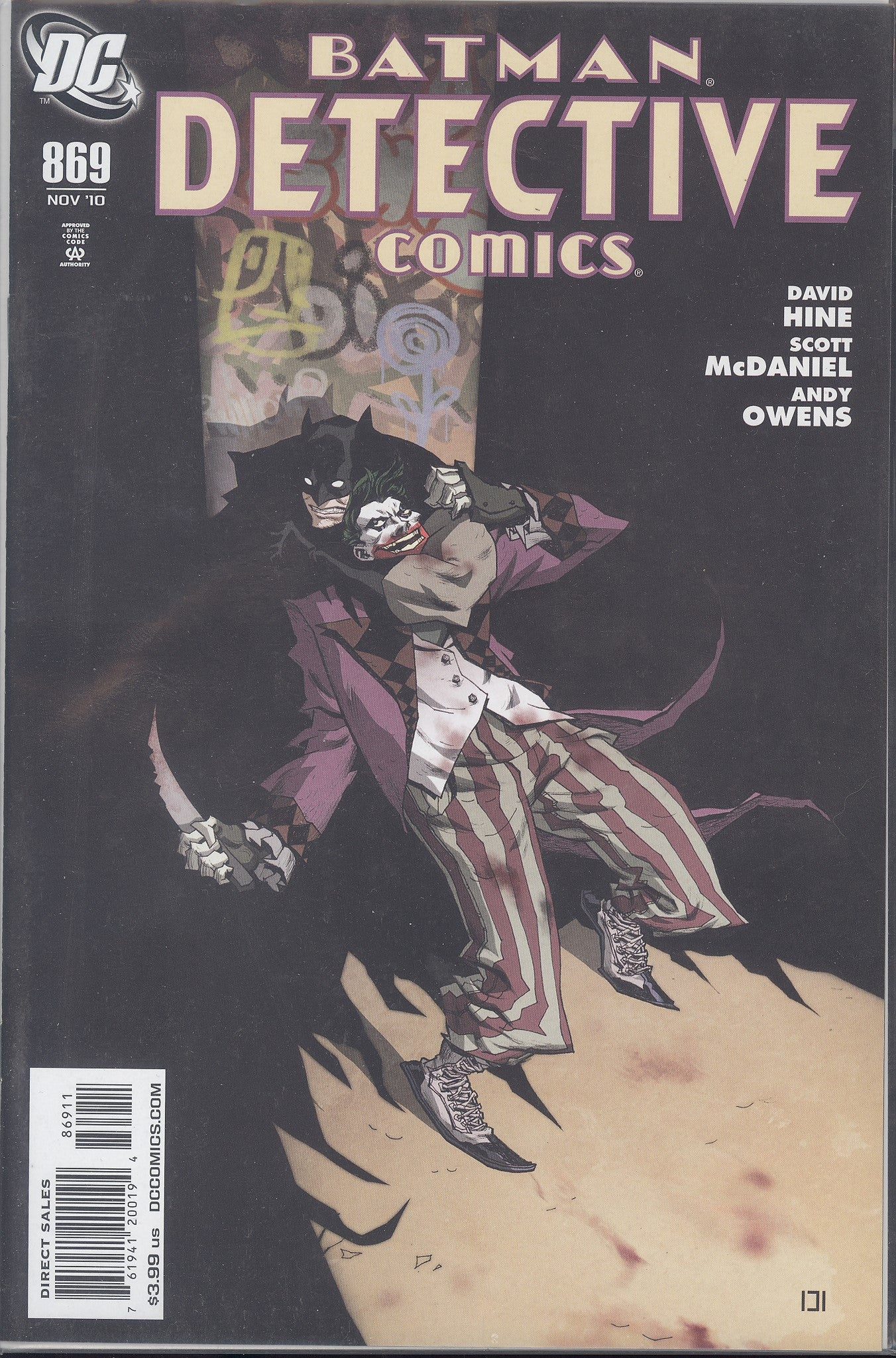Detective Comics #869 VF/NM