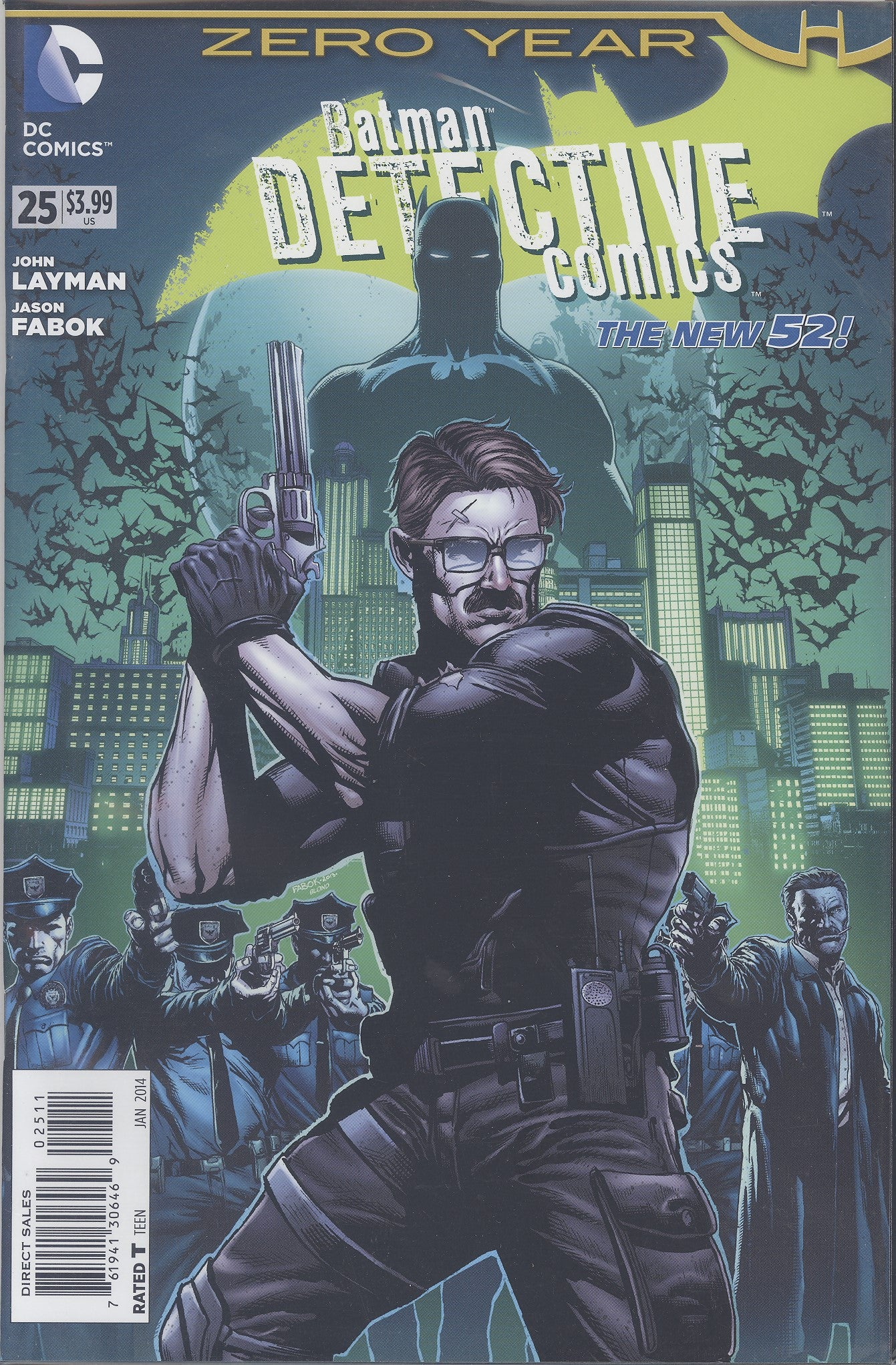 Detective Comics #25 (Zero Year) VF/NM