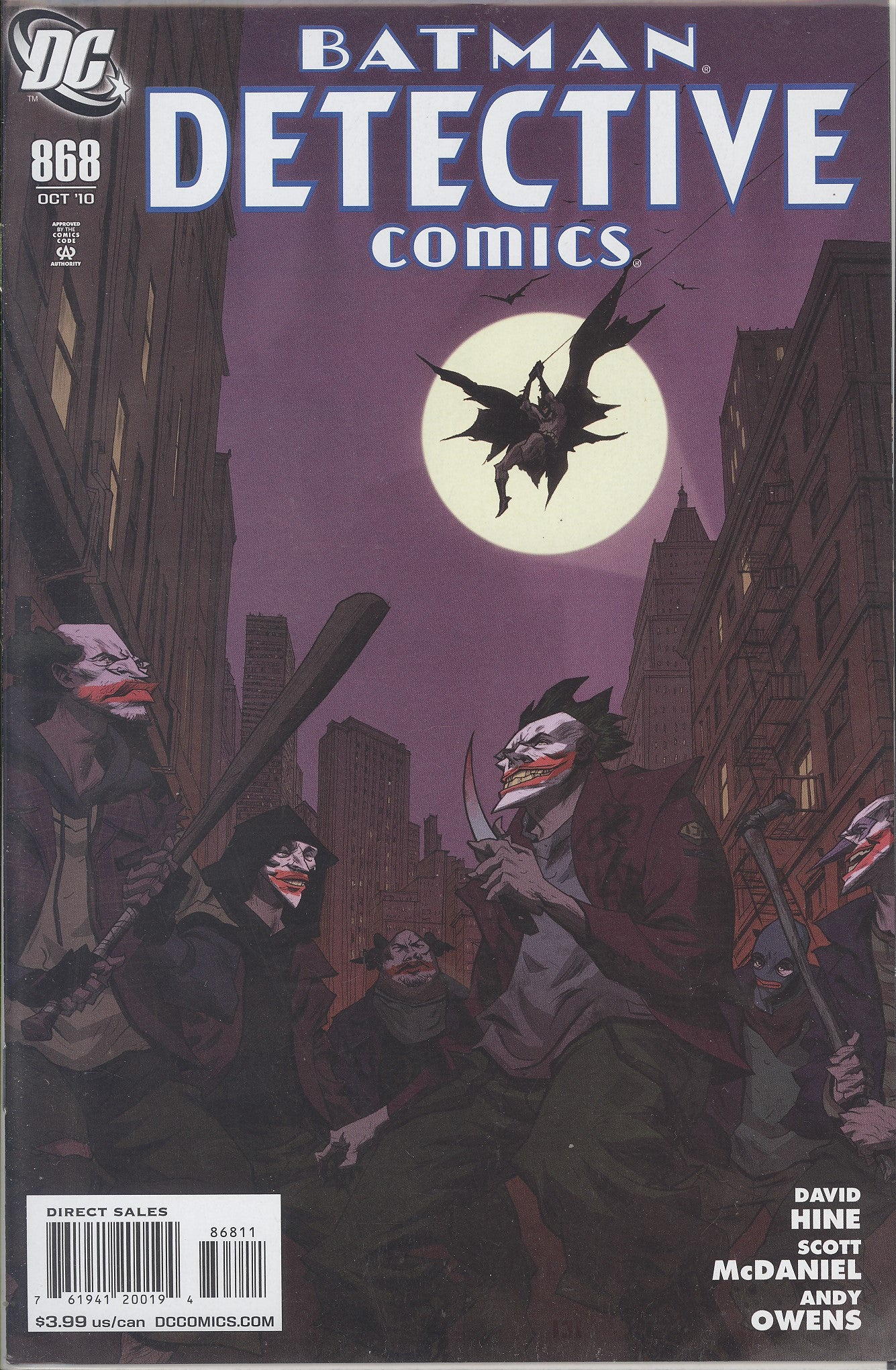 Detective Comics #868 VF/NM