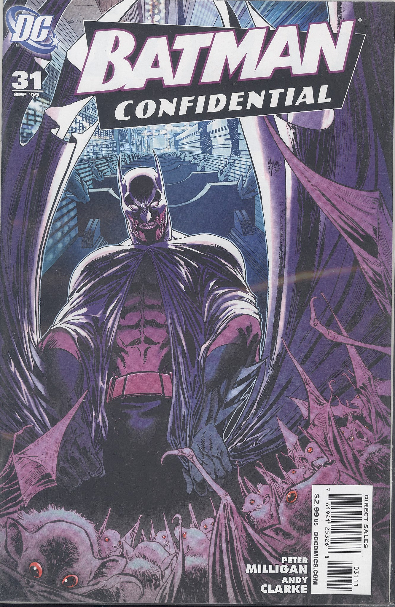 Batman Confidential #31 VF/NM