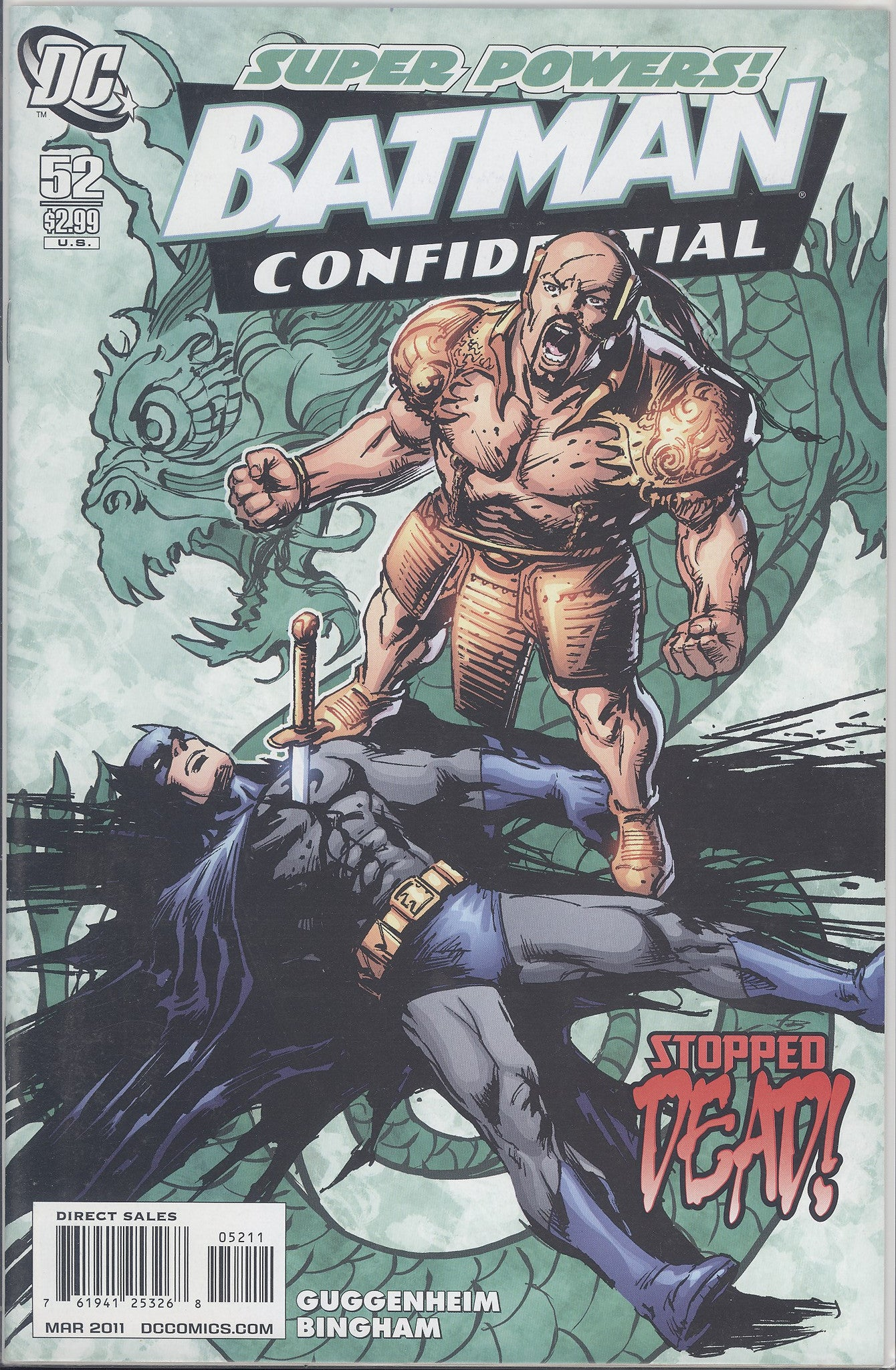 Batman Confidential #52 VF/NM