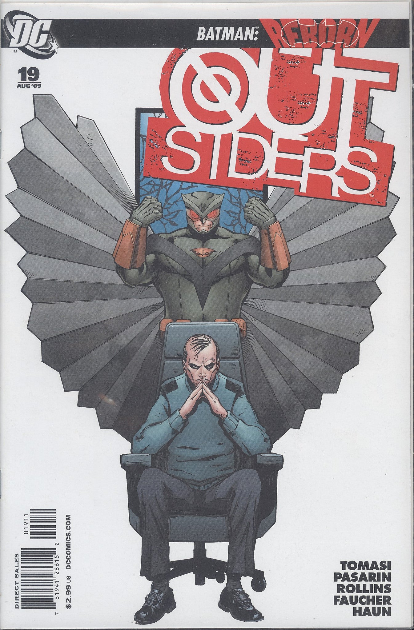 Outsiders #19 VF/NM