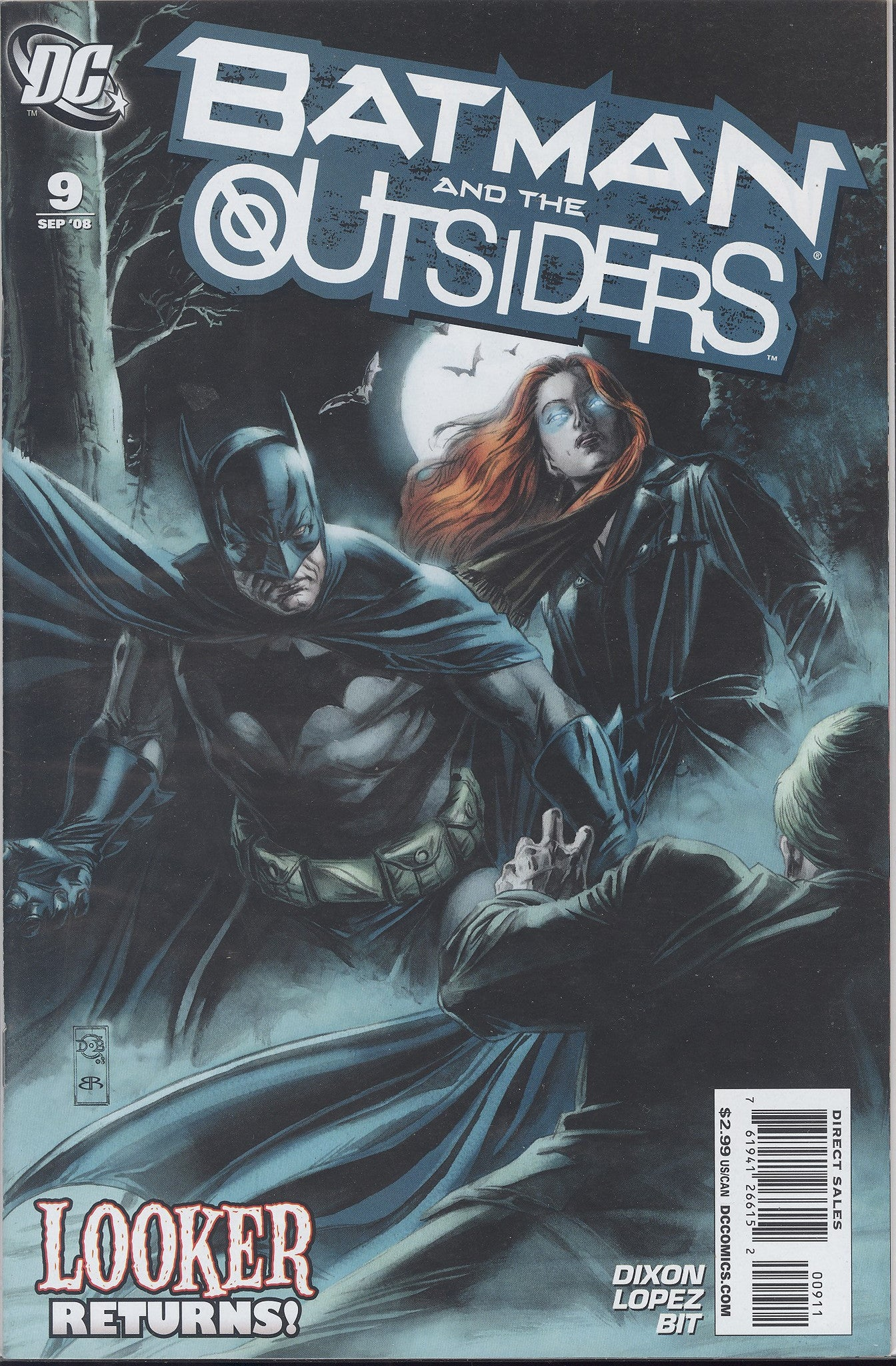 Batman and the Outsiders #9 VF/NM