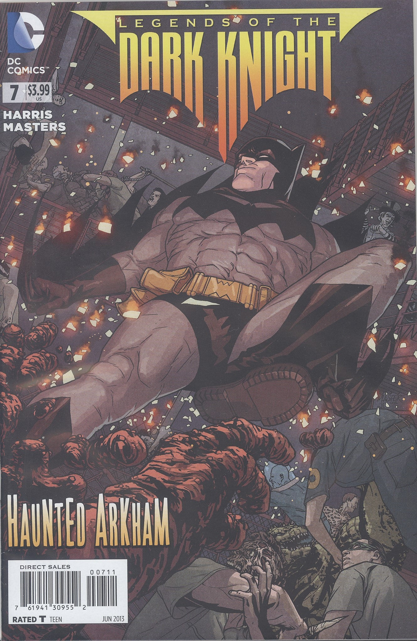 Legends of the Dark Knight #7 VF/NM