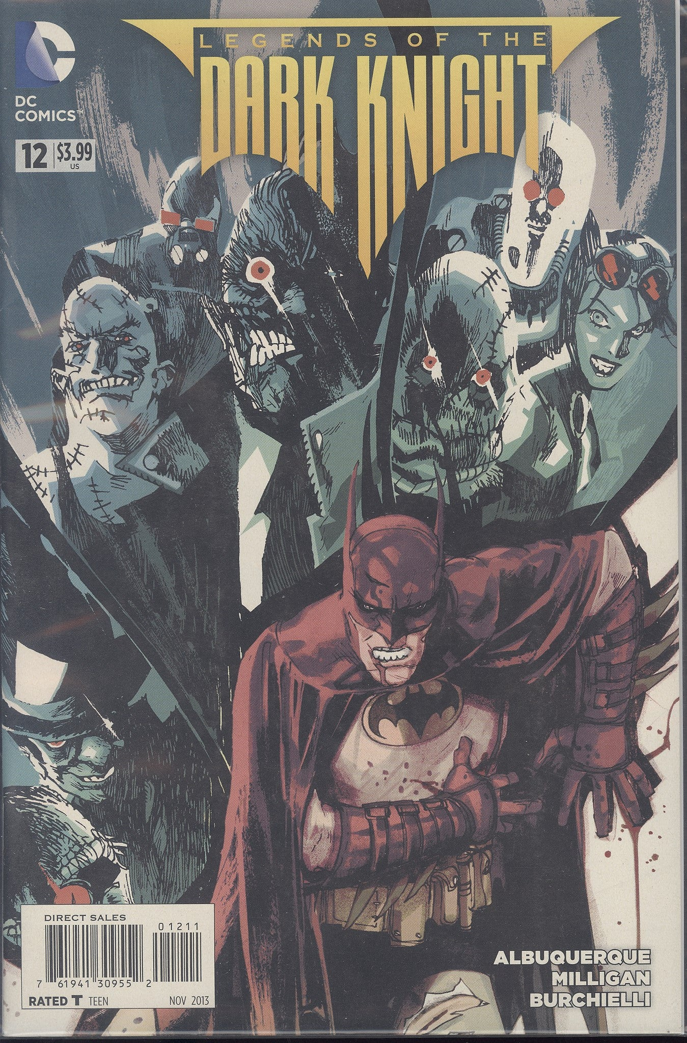 Legends of the Dark Knight #12 VF/NM