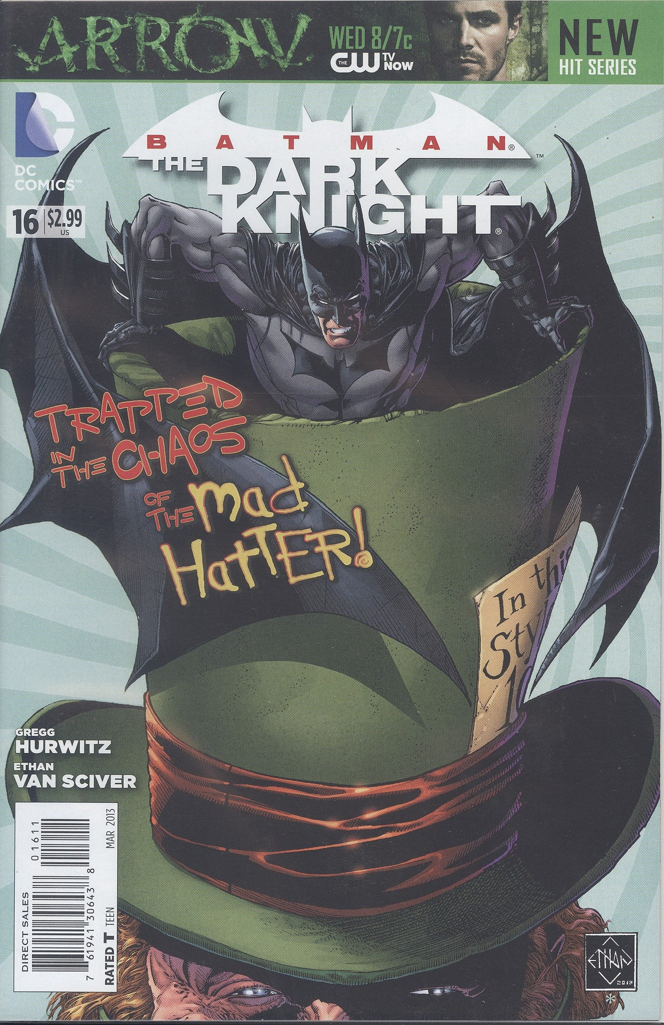 Batman The Dark Knight #16 VF/NM