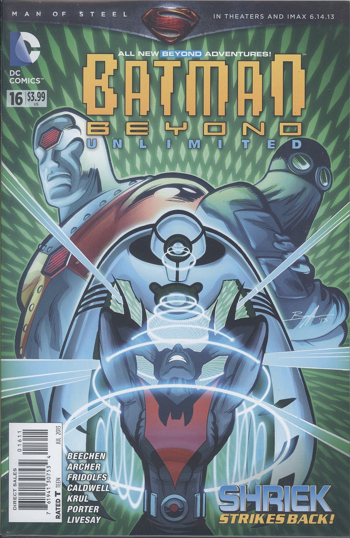 Batman Beyond Unlimited #16 VF/NM