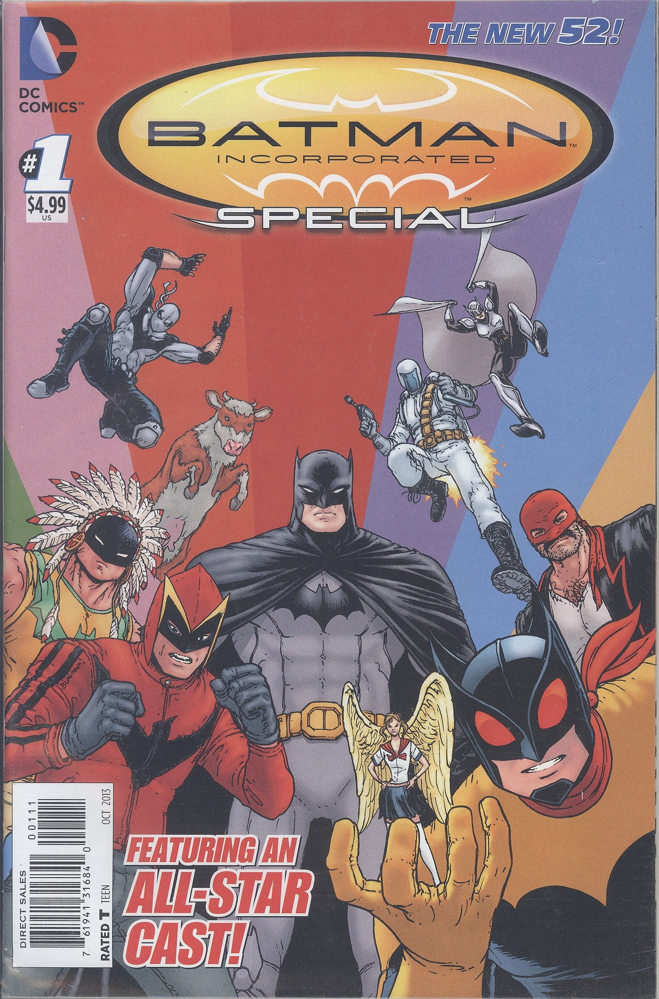 Batman Incorporated Special #1 VF/NM