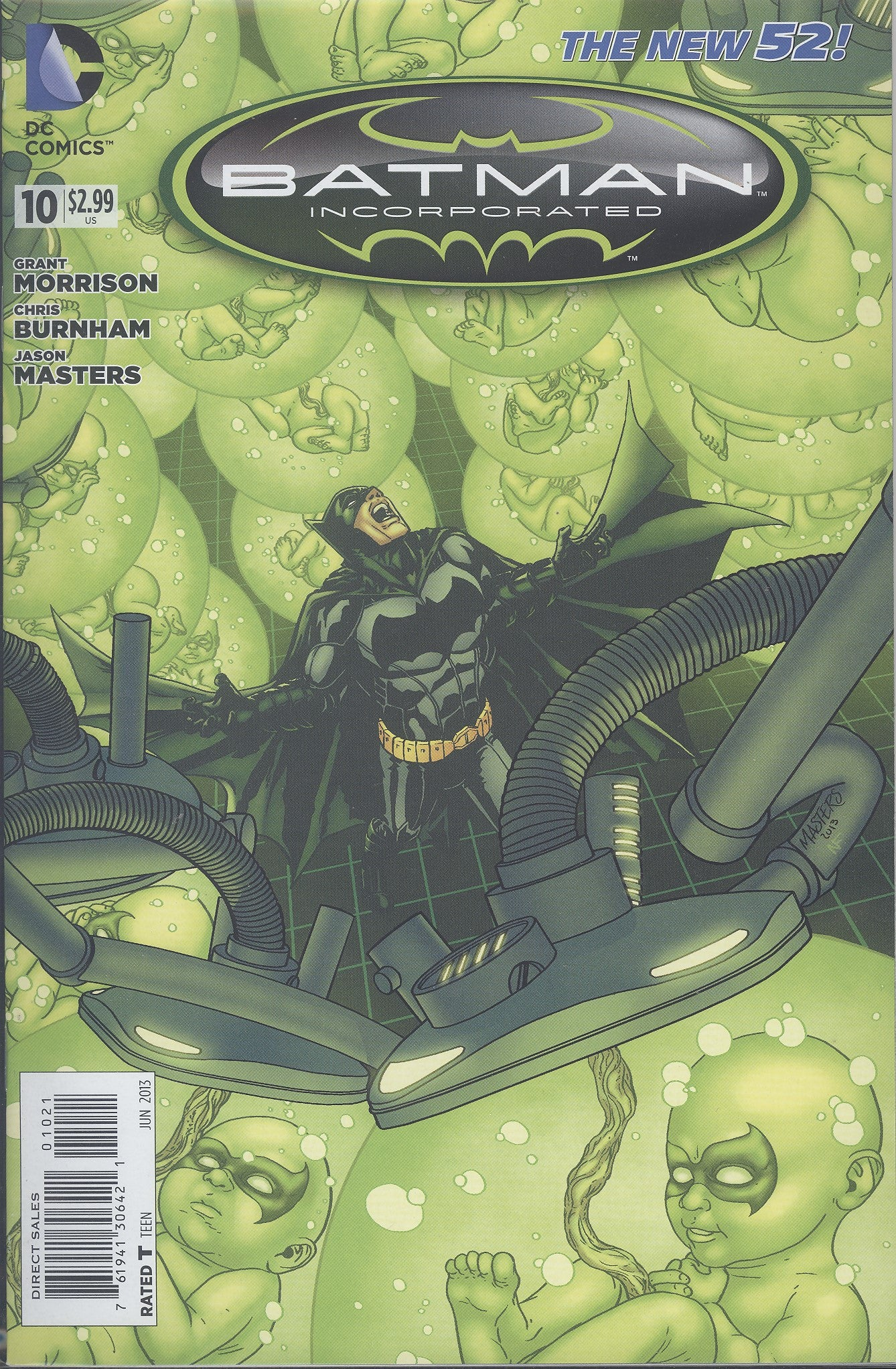 Batman Incorporated #10 Var VF/NM