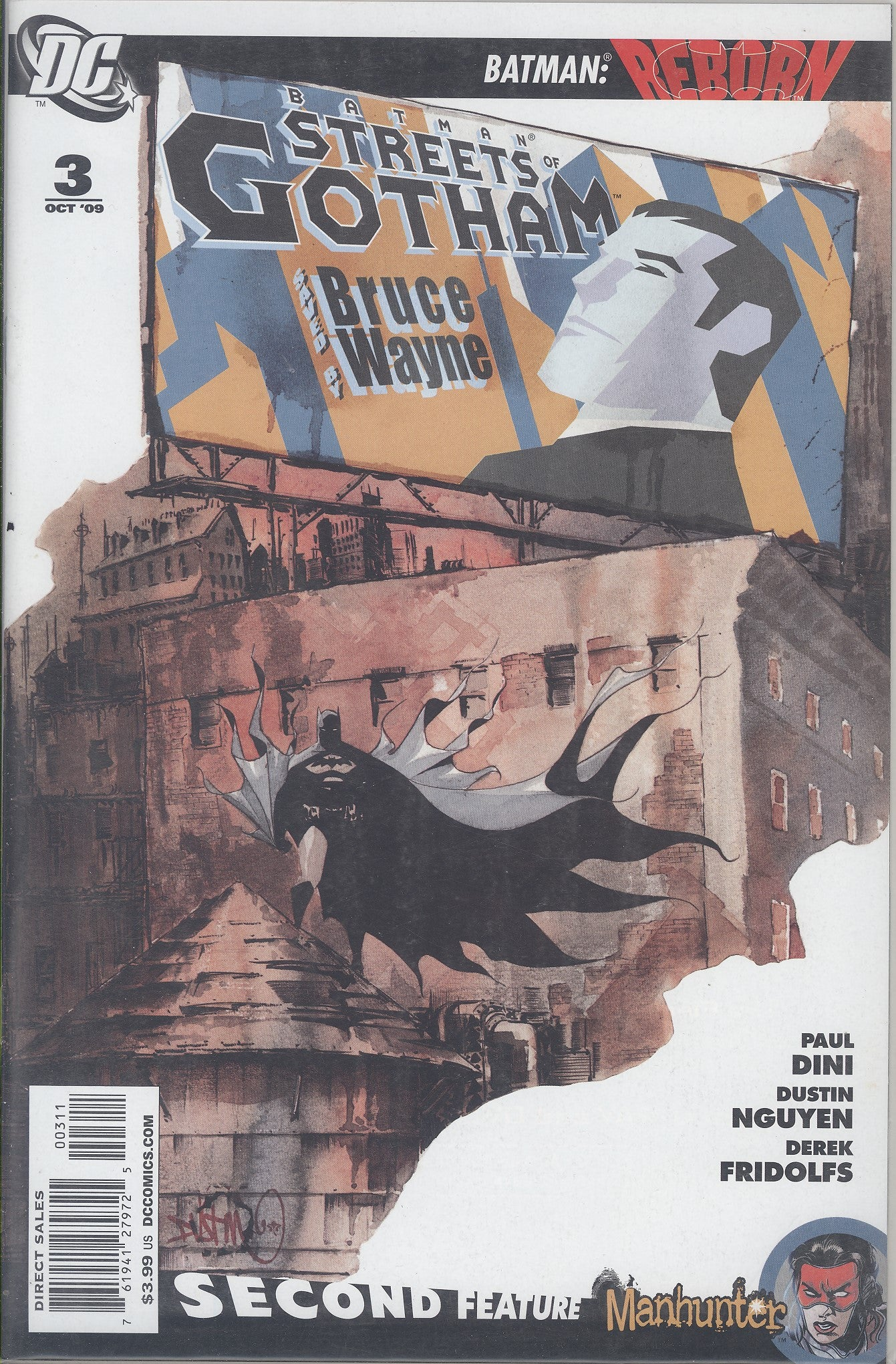Batman Streets of Gotham #3 VF/NM