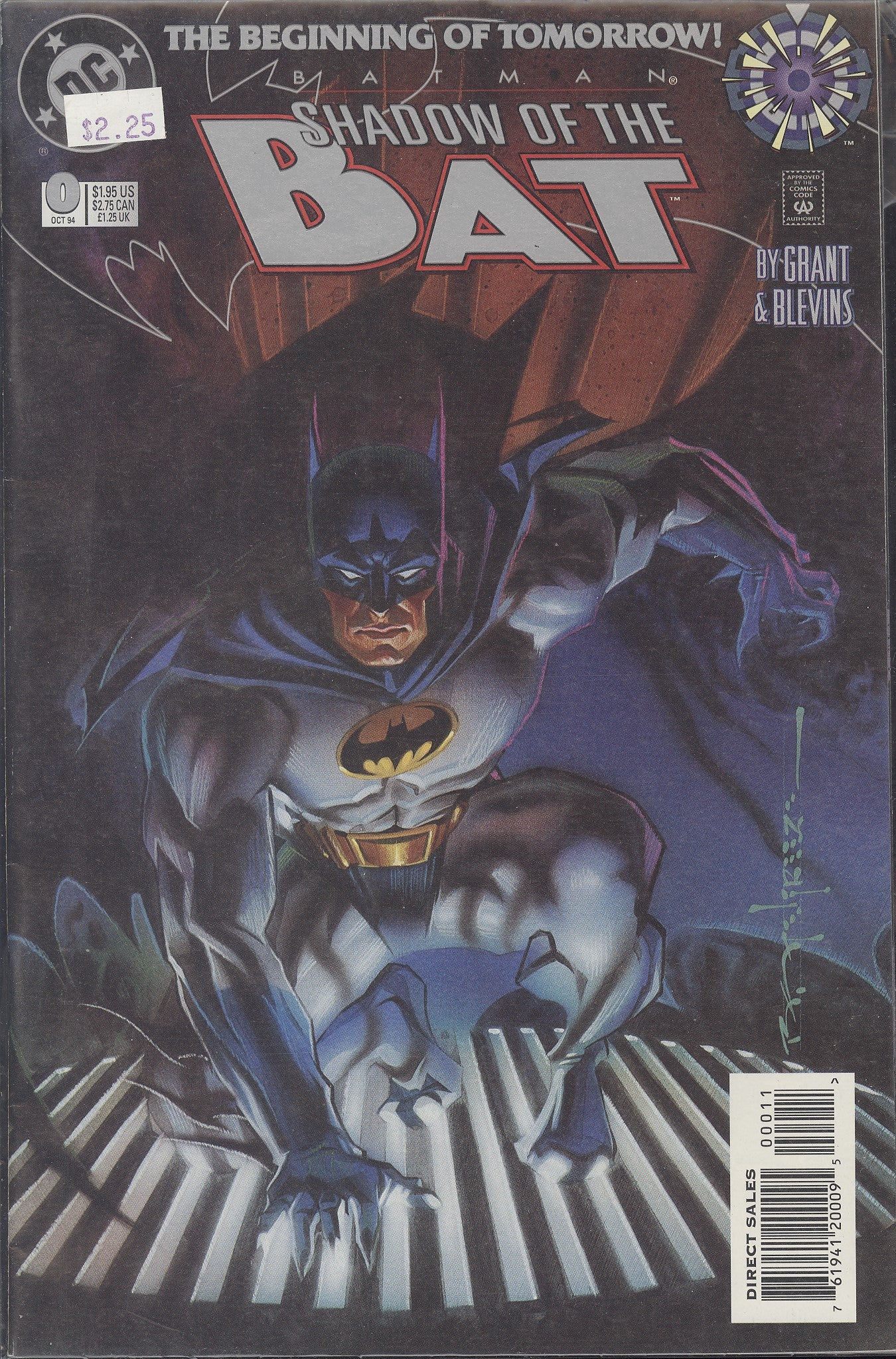 Batman Shadow of the Bat (1992) #0 VF/NM