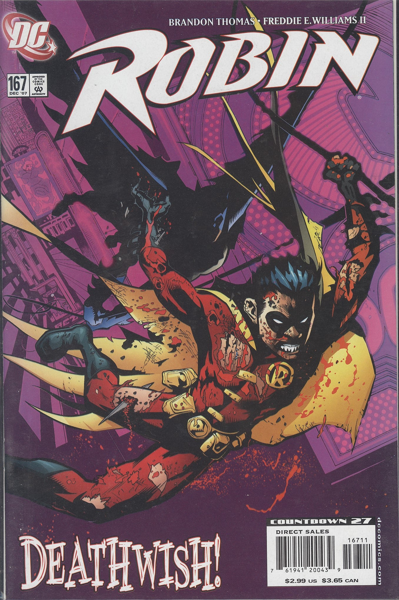 Robin #167 VF/NM