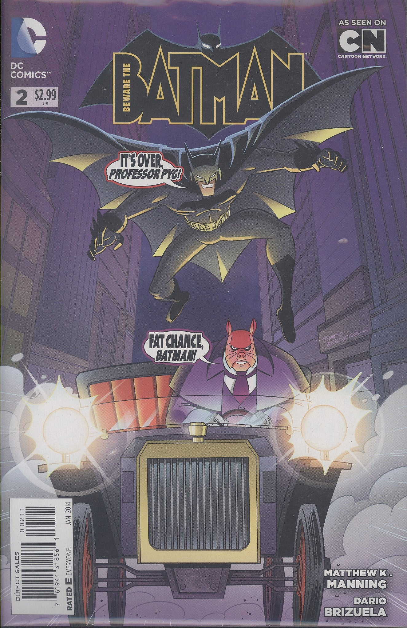 Beware the Batman #2 VF/NM