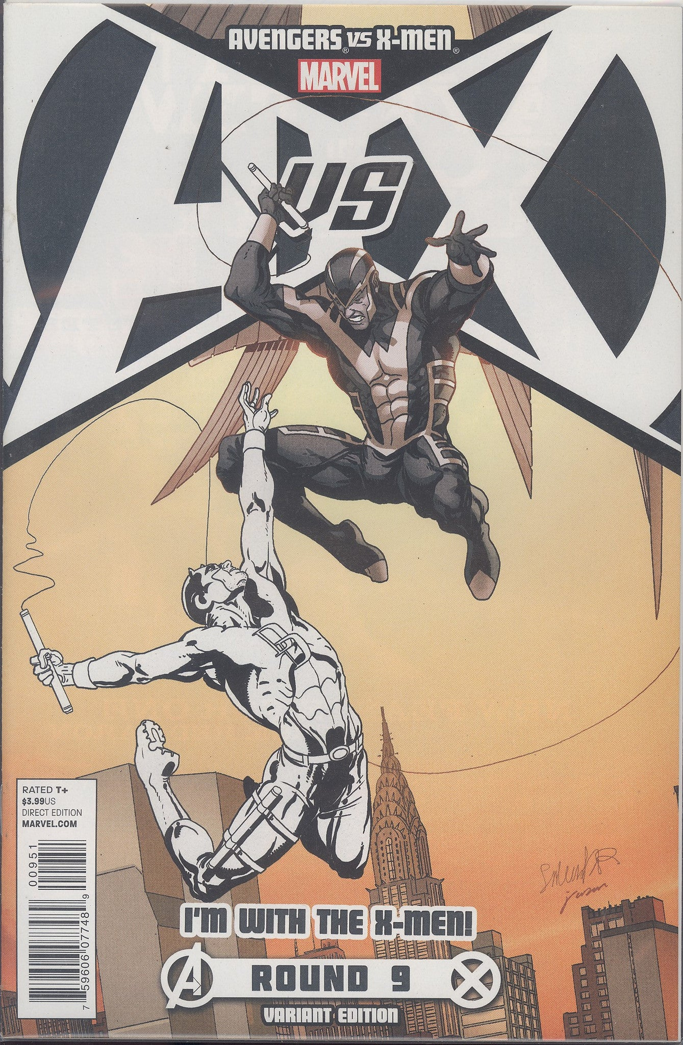 Avengers vs X-Men #9 (of 12) X-Men Team Var  AVX VF/NM