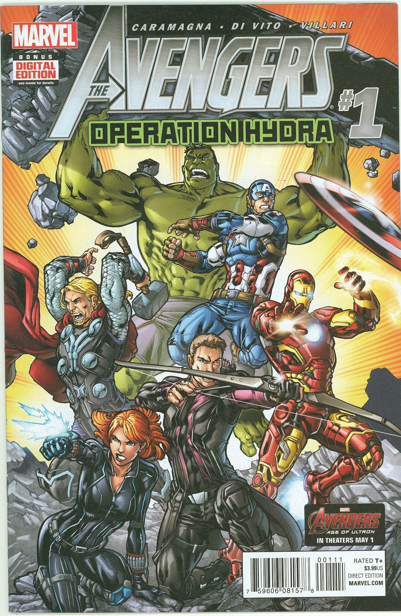 The Avengers, Operation Hydra #1 VF/NM