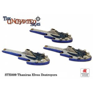 Uncharted Seas Thaniras Elves Destroyers