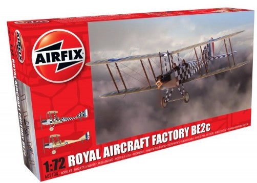 1/72 Factory BE2C Scout Recon RAF Biplane