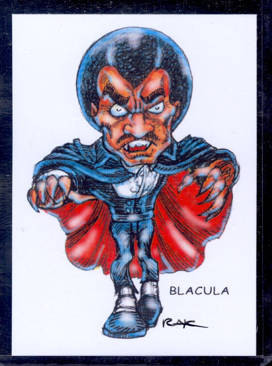 "Blacula ""Trading Card Art"" by RAK"