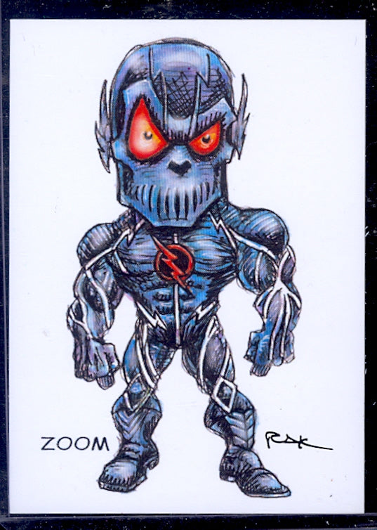 "Zoom ""Trading Card Art"" by RAK"