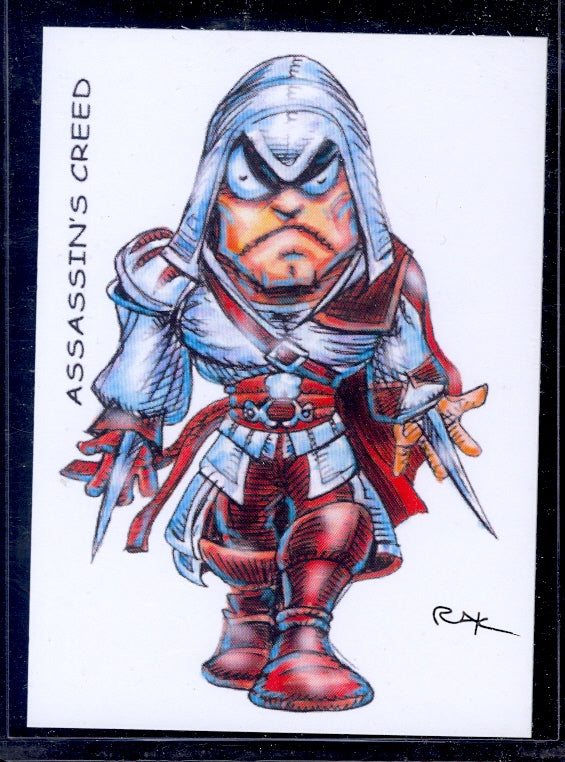 "Assassins Creed ""Trading Card Art"" by RAK"