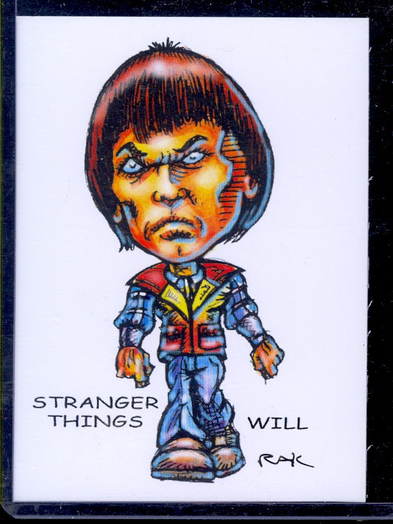 "Will Stranger Things ""Trading Card Art"" by RAK"