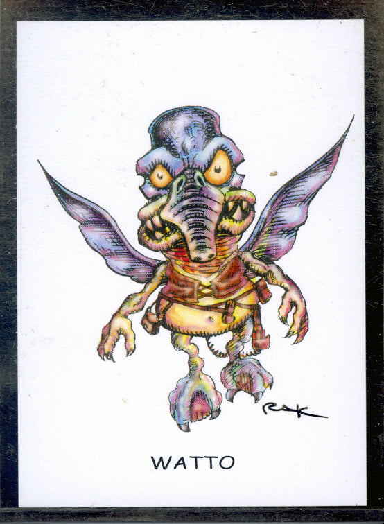 "Watto ""Trading Card Art"" by RAK"
