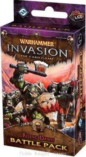 Warhammer Invasion The Card Game (Rising Dawn) Battle Pack