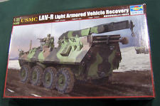 1/35 Scale USMC LAV-R Light Armored Vehicle Recovery Model Kit