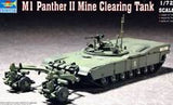 M1 Panther II Mine Clearing Tank Model Kit 1:72 Scale