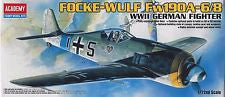 Focke- Wulf Fw 190A-6/8 WWII German Fighter Model Kit 1:72 Scale