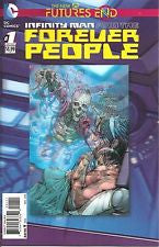 Infinity Man & The Forever People Futures End #1 3-D Cvr VF/NM