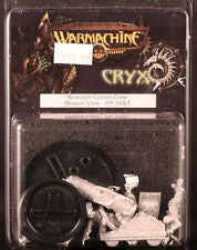 Warmachine Cryx: Revenant Canon Crew Weapon Crew