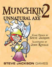 Munchkin 2: Unnatural Axe! Card Game Expansion