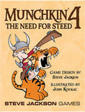 Munchkin 4: The Need For Steed Card Game Expansion