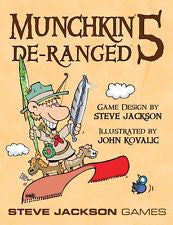 Munchkin Expansion 5 Five De-Ranged Deranged